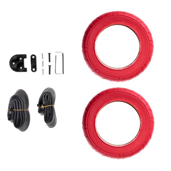10 palcový set kolies červený Xiaomi M365 / 1S / Essential / PRO / PRO 2
