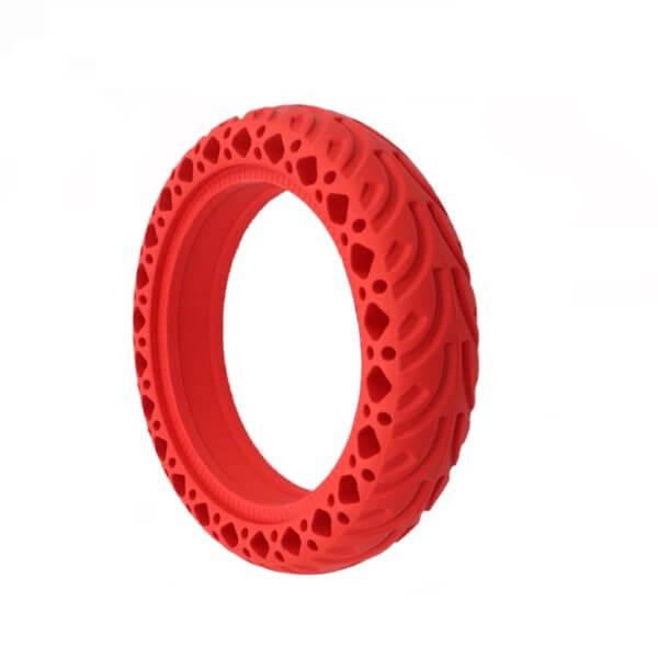 Plná pneumatika Červená M365 / 1S / PRO / PRO 2 / Essential